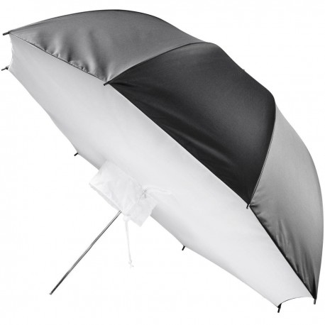 Umbrellas - walimex pro Umbrella Softbox Reflector, 109cm - buy today in store and with delivery