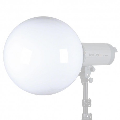 Reflectors - walimex Univ. Spherical Diffuser, 30cm Visatec - quick order from manufacturer