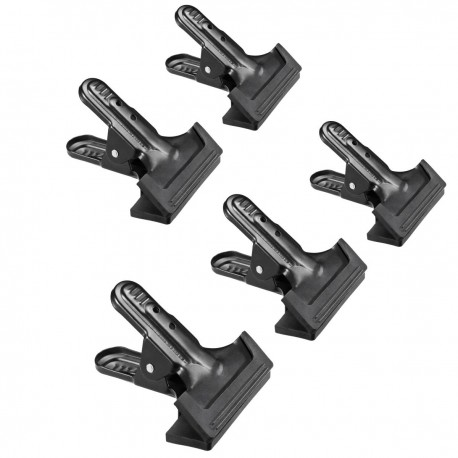 Holders - walimex Studio Clip, 5 pieces - quick order from manufacturer