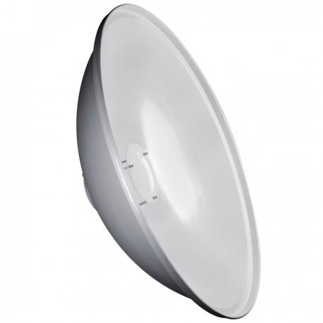 Reflektori - Walimex pro Beauty Dish 50cm walimex pro & K balts 18622 - ātri pasūtīt no ražotāja