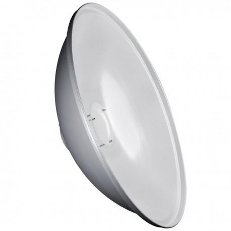 Reflectors - walimex pro Beauty Dish 50cm walimex pro & K white - quick order from manufacturer