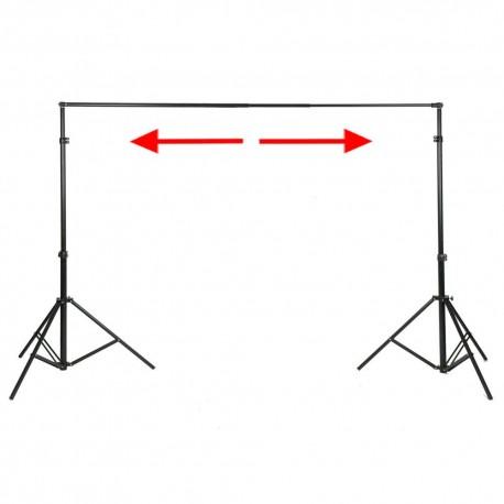 Fonu turētāji - walimex XXL Background System, 190-465cm - quick order from manufacturer