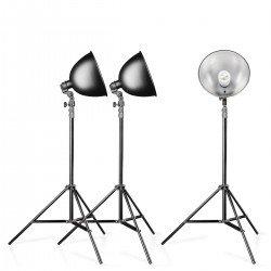 Fluorescējošās - walimex Studioset Daylight 150/150/150 Basic - ātri pasūtīt no ražotāja