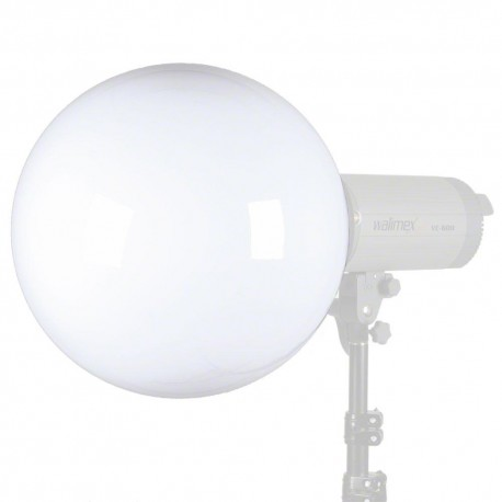 Reflectors - walimex Spherical Diffuser w. Univ. Adapter System - quick order from manufacturer