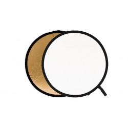 Foldable Reflectors - Lastolite Collapsible Reflector 95cm Gold/White - quick order from manufacturer