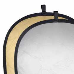Saliekamie atstarotāji - walimex 2in1 Foldable Reflector silv./gold 145x200 - ātri pasūtīt no ražotāja