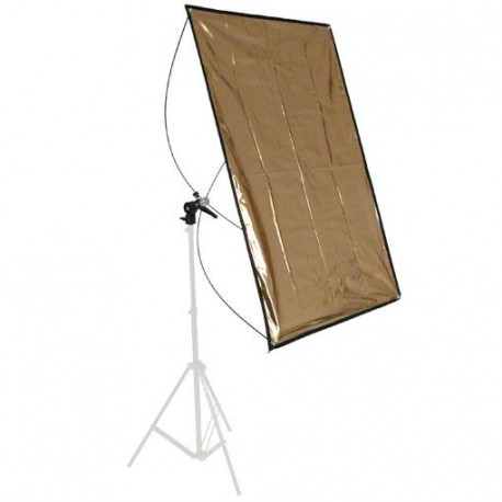 Reflector Panels - walimex Reflector Panel silver/gold, 70x100cm - quick order from manufacturer