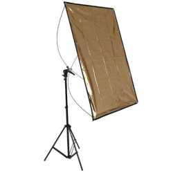 Atstarotāju paneļi - walimex Reflector Panel 70x100cm + WT-803 Stand - ātri pasūtīt no ražotāja