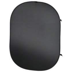 Foto foni - walimex Foldable Background black, 150x200cm - perc veikalā un ar piegādi