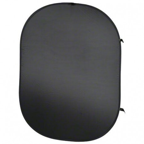 Backgrounds - walimex Foldable Background black, 150x200cm - quick order from manufacturer