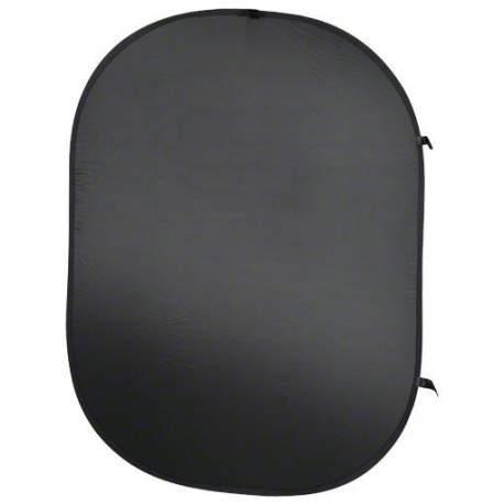 Foto foni - walimex Foldable Background black, 150x200cm - ātri pasūtīt no ražotāja