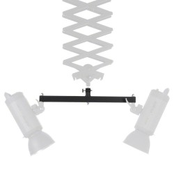 Ceiling Rail Systems - walimex Double Mounting Bracket for Ceiling Rail - quick order from manufacturer