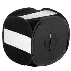 Gaismas kastes - walimex Pop-Up Light Cube 150x150x150cm BLACK - ātri pasūtīt no ražotāja