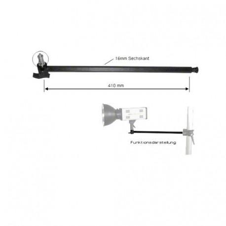 Turētāji - walimex Extension Arm w. Spigot 1/4 + 3/8 Inch - ātri pasūtīt no ražotāja