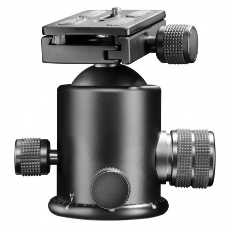 Tripod Heads - walimex pro FT-6665H Aluminium Pro-Ball Head - quick order from manufacturer