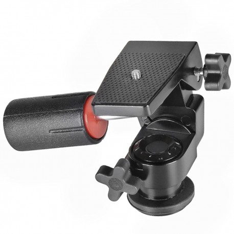 Tripod Heads - walimex FT 008H Semi-Pro 3D-Panhead - quick order from manufacturer