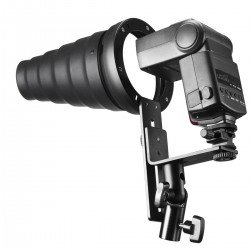 Acessories for flashes - walimex Spot Mounting for Compact Flashes - quick order from manufacturer