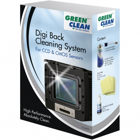 Green Clean SC-8000 Digi Back Cleaning System
