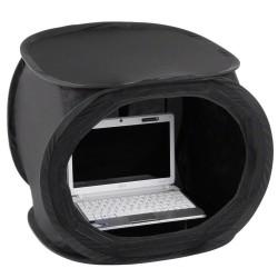 Gaismas kastes - walimex Pop-Up Laptop Tent 50x50x50cm super black 17344 - ātri pasūtīt no ražotāja