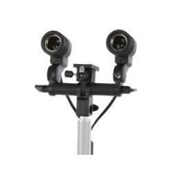 Fluorescējošās - Linkstar RH-02 Lamp Holder With 2 Sockets - perc veikalā un ar piegādi