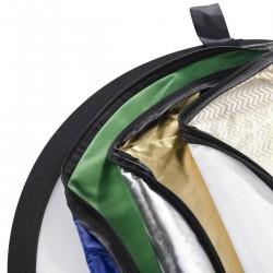 Saliekamie atstarotāji - walimex 7in1 Foldable Reflector Set, Ø56cm 17685 - ātri pasūtīt no ražotāja