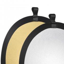 Складные отражатели - walimex Foldable Reflector golden/silver, Ш56cm - быстрый заказ от производителя