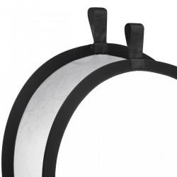 Saliekamie atstarotāji - walimex Foldable Reflector silver/white, Ø56cm 17693 - ātri pasūtīt no ražotāja