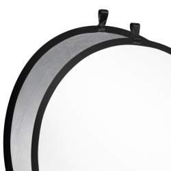 Saliekamie atstarotāji - walimex Foldable Reflector silver/white, Ø107cm 17694 - ātri pasūtīt no ražotāja