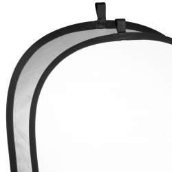 Saliekamie atstarotāji - walimex Foldable Reflector silver/white, 148x198cm - ātri pasūtīt no ražotāja