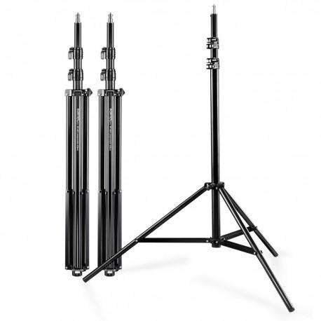 Gaismu statīvi - walimex Set of 3 WT-806 Lamp Tripods, 256cm 17698 - perc veikalā un ar piegādi