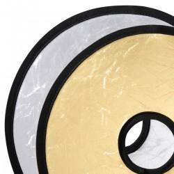 Saliekamie atstarotāji - walimex Lens Reflector silver/golden, Ø30cm 18577 - ātri pasūtīt no ražotāja