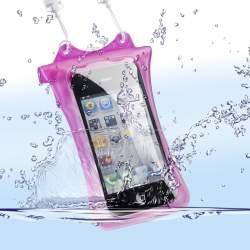 Viedtālruņiem - WP-i10 Underwater Bag for iPhone & iPod, pink 18578 - ātri pasūtīt no ražotāja