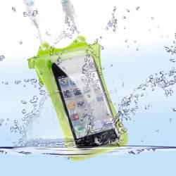 Viedtālruņiem - WP-i10 Underwater Bag for iPhone & iPod, green 18580 - ātri pasūtīt no ražotāja