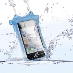 Viedtālruņiem - WP-i10 Underwater Bag for iPhone & iPod, blue 18581 - ātri pasūtīt no ražotāja