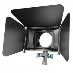 Vārtiņi - Mattbox - walimex pro Lens Hood Matte Box Director I 18630 - ātri pasūtīt no ražotāja