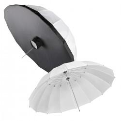 Umbrellas - walimex Translucent Light Umbrella Set, Ш180cm - quick order from manufacturer