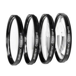 Makro aksesuāri - Walimex Close-up makro filtru komplekts 58mm 17857 - perc šodien veikalā un ar piegādi