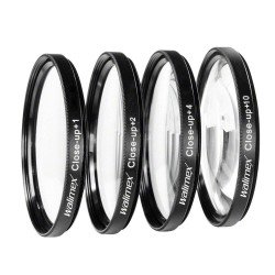 Makro aksesuāri - Walimex Close-up makro filtru komplekts 58mm 17857 - ātri pasūtīt no ražotāja
