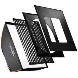 Softboksi - walimex pro Softbox PLUS OL 80x120cm + Uni Adapter 19268 - perc veikalā un ar piegādi