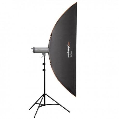 adaptador universal Walimex pro Softbox plus Orange Line 40x180cm