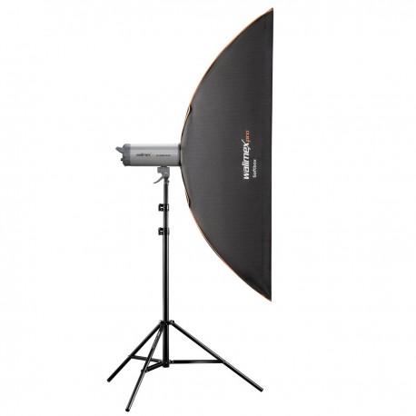 Softboksi - walimex pro Softbox PLUS OL 25x150cm Multiblitz P 19321 - ātri pasūtīt no ražotāja