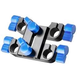 Plecu turētāji / Rig - walimex pro 15 mm Double Clamping Block 19441 - ātri pasūtīt no ražotāja