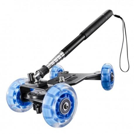 Рельсы - walimex pro Telescopic Mini Dolly for DSLR - быстрый заказ от производителя