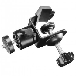 Tripod Heads - Walimex pro Tube Clamp with Ball Head - buy today in store and with delivery