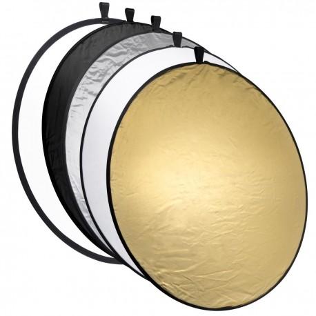 Saliekamie atstarotāji - Foldable Reflector 5 in 1 110 cm 18082 - perc šodien veikalā un ar piegādi