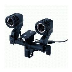 Ekonomiskās - Falcon Eyes Lampholder RH-02 for 2 Lamps with Umbrella Holder - ātri pasūtīt no ražotāja