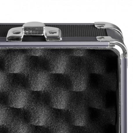 Кофры - mantona Photo Suitcase Basic M, black/metallic - купить сегодня в магазине и с доставкой
