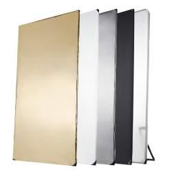 Atstarotāju paneļi - walimex pro 5in1 Reflector Panel, 1x2m 18405 - perc veikalā un ar piegādi