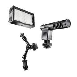 Plecu turētāji / Rig - walimex pro Video Equipment Set Intermdiate 20020 - ātri pasūtīt no ražotāja