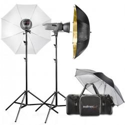 Комплекты студийных вспышек - walimex pro VE Set Classic M 4/2 DS2RS+ - быстрый заказ от производителя